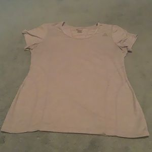 Reebok Gray Fitted T-Shirt Size M